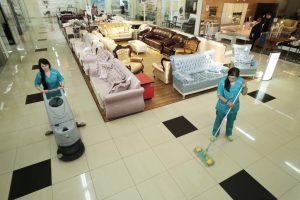 комплексная и поддерживающая уборка магазинов